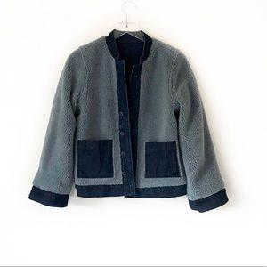 Madewell Jackets & Coats - Madewell reversible sherpa Jean jacket
